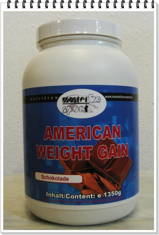 Masterline Sport Weight Gainer 1350g